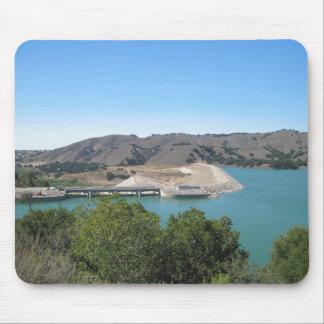 Bradbury Dam at Cachuma Lake Near Santa Ynez Mouse Pad