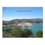 Bradbury Dam at Cachuma Lake Near Santa Ynez Postcards