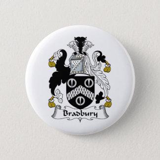Bradbury Family Crest Button
