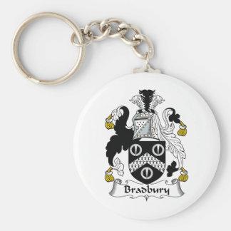 Bradbury Family Crest Key Chain