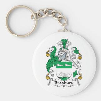 Bradbury Family Crest Key Chains