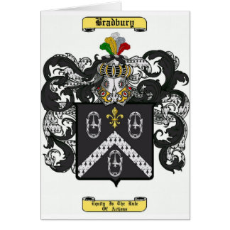 Bradbury Tarjeta De Felicitación