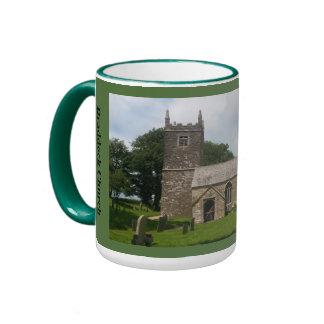 Braddock Church Cornwall England Ringer Coffee Mug