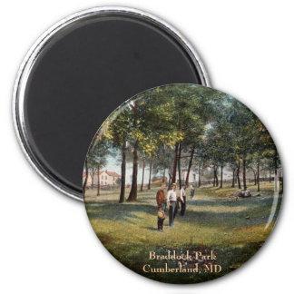 Braddock Park Vintage Cumberland Magnet