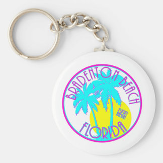 Bradenton Beach Florida Keychain