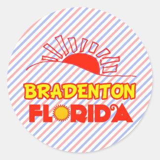 Bradenton, Florida Classic Round Sticker