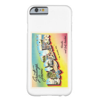 Bradenton Florida FL Old Vintage Travel Souvenir Barely There iPhone 6 Case