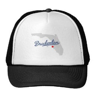 Bradenton Florida FL Shirt Trucker Hat