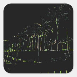Bradenton Florida Marina Square Sticker