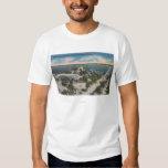 Bradenton, Florida - View Across Manatee River T Shirt