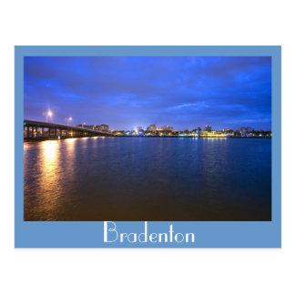 Bradenton, la Florida, joya del golfo Tarjetas Postales