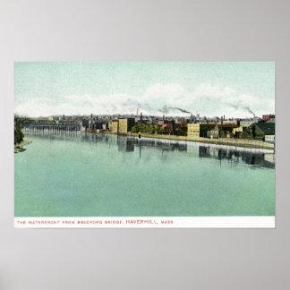 Bradford Bridge View of the Waterfront Poster