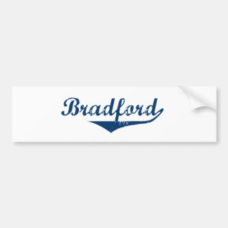 Bradford Bumper Sticker