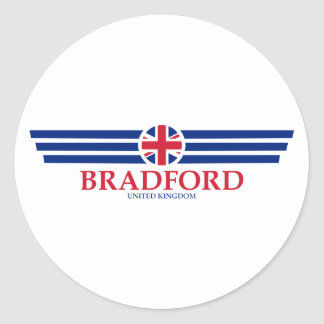 Bradford Classic Round Sticker