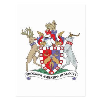 Bradford Coat of Arms Postcard