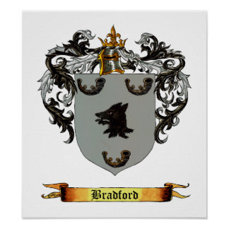 Bradford Coat of Arms Poster