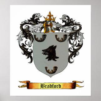 Bradford Coat of Arms Poster