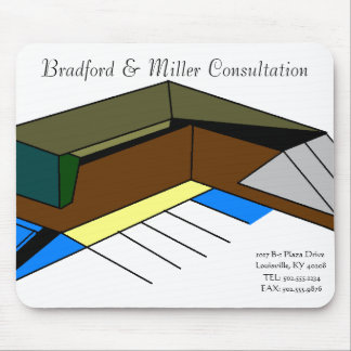 bradford designed company mousepad
