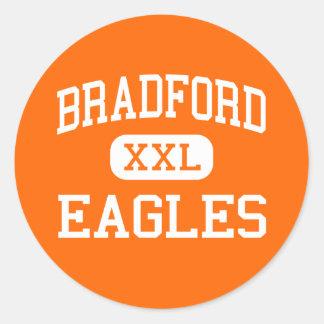 Bradford - Eagles - High - Bradford Arkansas Classic Round Sticker