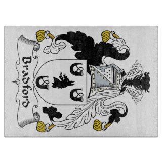 Bradford Family Crest Cutting Board