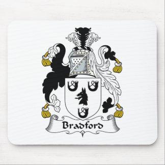 Bradford Family Crest Mouse Pad