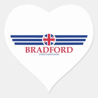 Bradford Heart Sticker