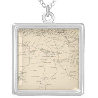 Bradford, Merrimack Co Square Pendant Necklace