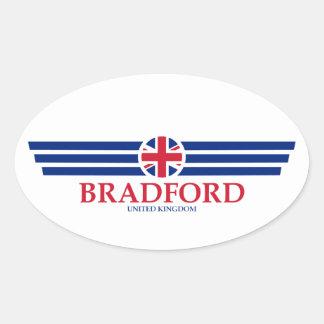 Bradford Oval Sticker
