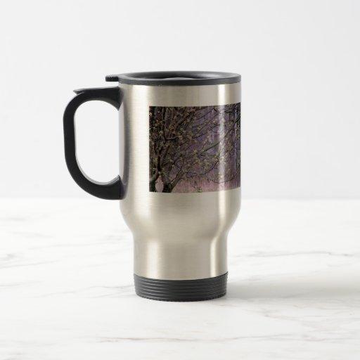 Bradford Pear Tree Buds Coffee Mugs