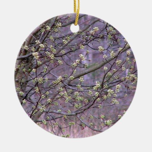 Bradford Pear Tree Buds Ornament