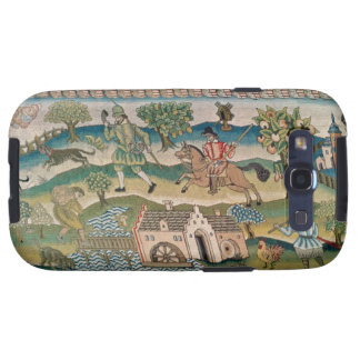 Bradford Table Carpet, detail of scenes of rural l Samsung Galaxy S3 Cases
