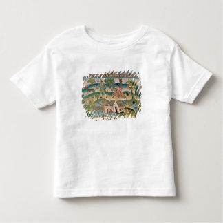 Bradford Table Carpet, detail of scenes of rural l Toddler T-shirt