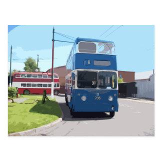 Bradford Trolleybus 735 Postcard