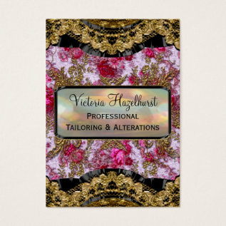 Bradfordshire Petal  Elegant Professional Business Card at Zazzle