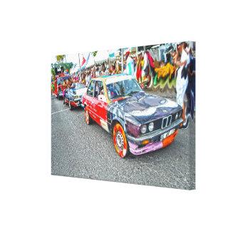 Bradjak of carnival in Martinique Canvas Print