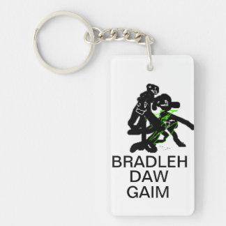 Bradleh Daw Gaim Keychain