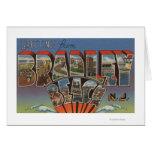 Bradley Beach, New Jersey - Large Letter Scenes Card