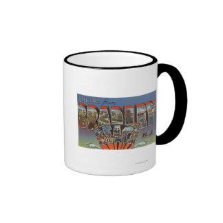 Bradley Beach, New Jersey - Large Letter Scenes Mug