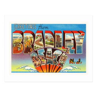 Bradley Beach New Jersey NJ Vintage Old Postcard- Postcard
