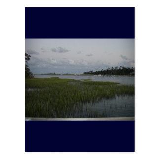 Bradley Creek, Wilmington, NC Postcard