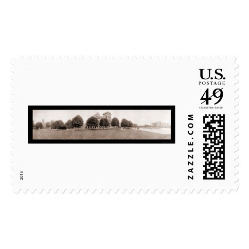 Bradley Poly Institute Photo 1914 Stamp