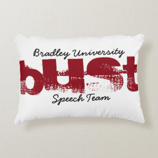 Bradley Speech Throw Pillow