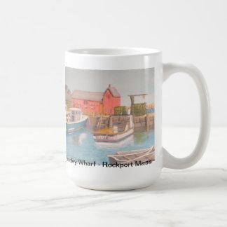 Bradley Wharf - Rockport Mass Coffee Mug