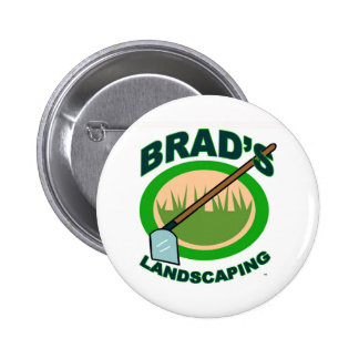 Brad's Landscaping Extract Movie 2 Inch Round Button