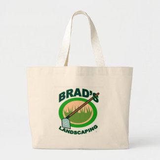 Brad's Landscaping Extract Movie Canvas Bags