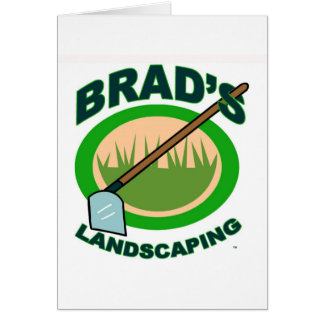 Brad's Landscaping Extract Movie Greeting Card