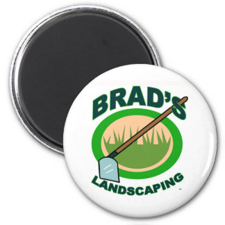 Brad's Landscaping Extract Movie 2 Inch Round Magnet