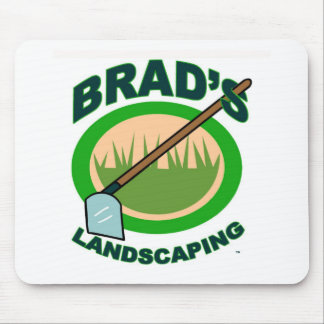Brad's Landscaping Extract Movie Mousepad