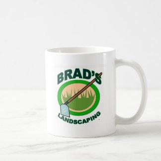 Brad's Landscaping Extract Movie Classic White Coffee Mug