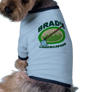 Brad's Landscaping Extract Movie Pet T Shirt